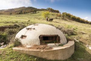 Albania - disused bunker